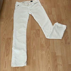 AG cream corduroy pants